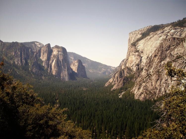 View from Glacier point path, Yosemite National Park, USA, by Sam Davis Professional Landscape Photographer