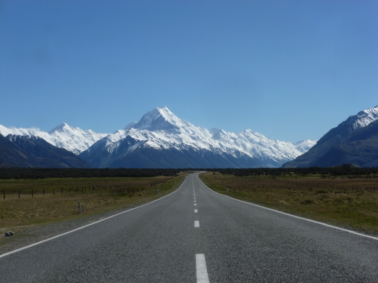 The Road to Mount Cook, New Zealand by Sam Davis Professional Landscape Photographer