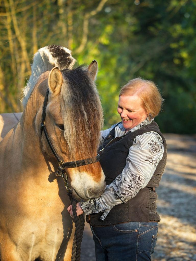 Jane and Odin by Sam Davis Photographer Norwegian Fjord Horse