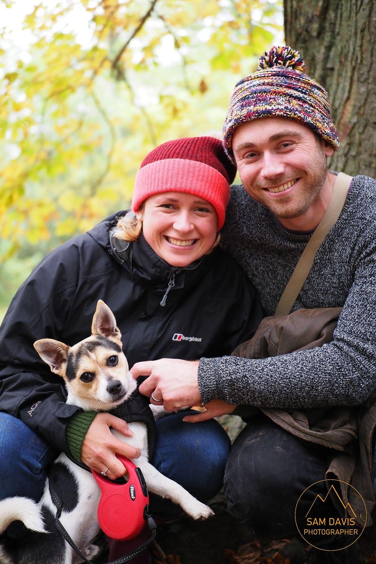 A wonderful autumn family portrait