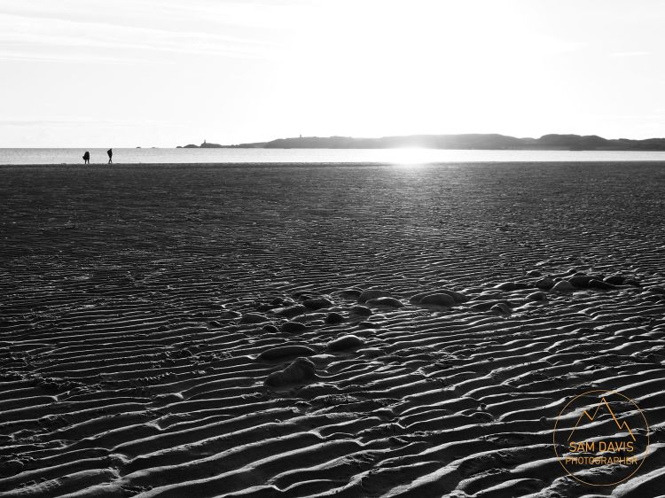 Late evening at Newborough Beach, Anglesey, Wales, by Sam Davis Professional Landscape Photographer