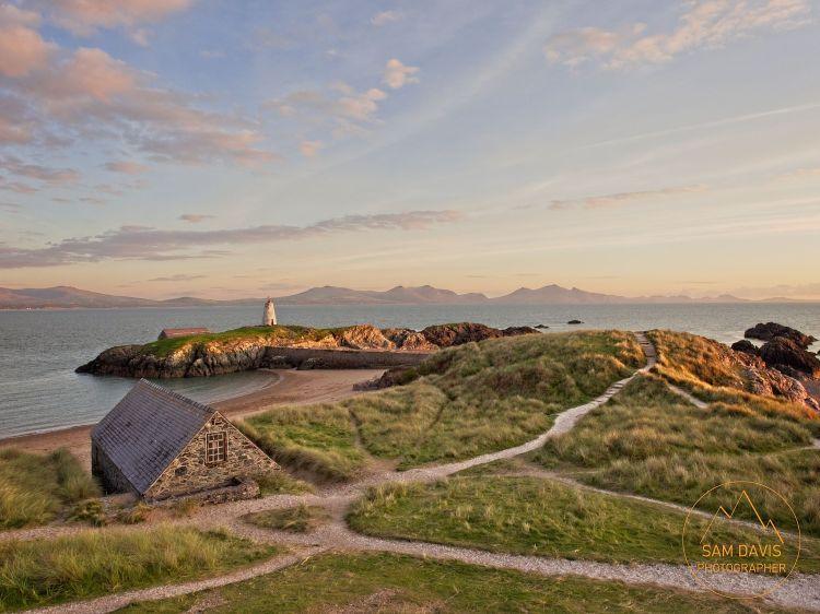 Sunset at Goleudy Tŵr Bach, Ynys Llanddwyn, Anglesey, Wales by Sam Davis Professional Landscape Photographer