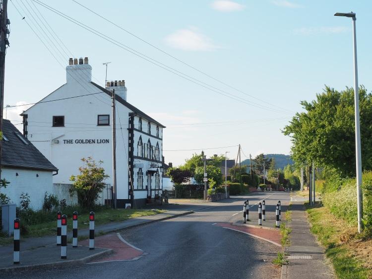 The Golden lion Hotel, The Street, Llandysilio, Wales by Sam Davis Photographer pub four crosses