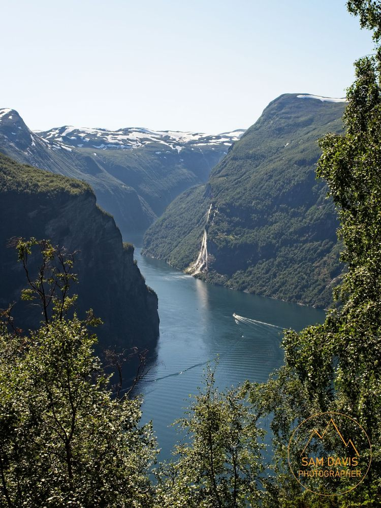 Geiranger Fjord, Norway by Sam Davis Photographer
