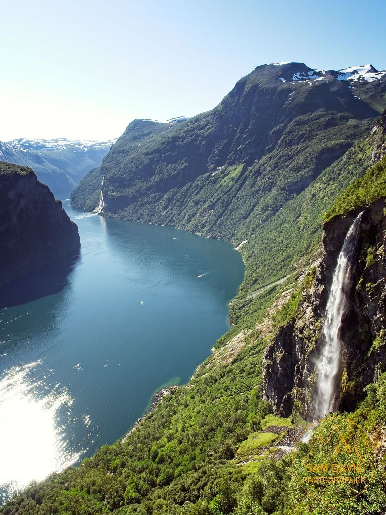 Geiranger Fjord, Norway by Sam Davis Photographer